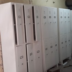 Mild Steel Industrial Lockers
