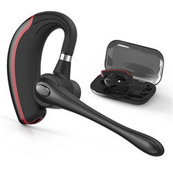 Red And Black Wireless Bluetooth Headset