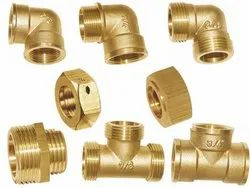 Brass Elbow and Tee Joints
