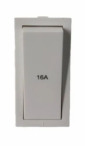 White Orpat 16A Switch, 230v