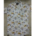 Cotton Collar Neck Mens Printed Casual Shirts