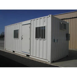 Gray Prefabricated Site Office