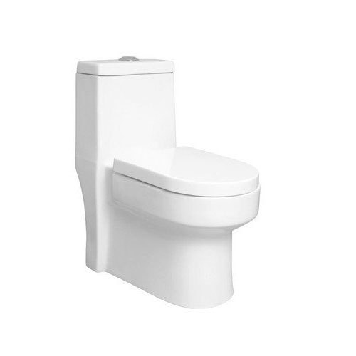 Allwin White One Piece Water Closet Toilet Seat, for Bathroom Fitting