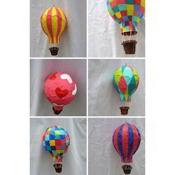 Handicrafts Paper Mache Air Balloon Kagaz Ki Lugdi Ka Hath Se Bane