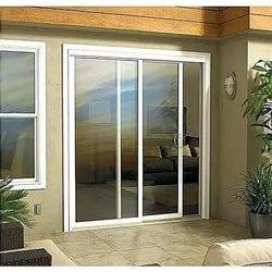 Aluminium(Frame) White Aluminum Sliding Door