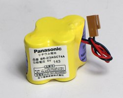 BR 2 3AGCT4A Panasonic Battery, Capacity: 3100 Mah