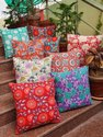 Hand Block Printed Cushion Cover