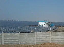 Solar Precast Boundary Wall