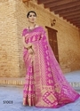 Silk Embroidered Party Wear Saree