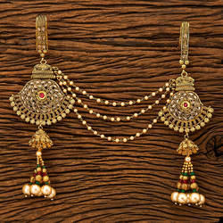 Rubygreen Handmade Double Jhuda With Gold Plating 19935