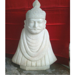 White Marble Statue