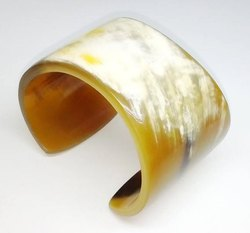 Buffalo Horn Cuff / Horn Jewellery