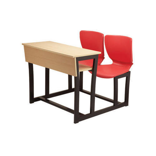 Dexter Pipe Frame With Prelaminated Particle Board Student Desk ...