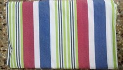 Stripe Designed  Cotton Table Cloth