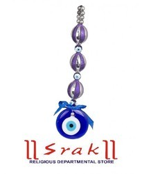 Nazar Suraksha Kavach with 3 Purple Balls
