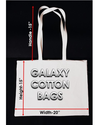 Natural Cream Color Cotton Tote Shopping Bags