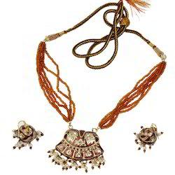 Exotic Meenakari Lacquer Neckalce Set 178