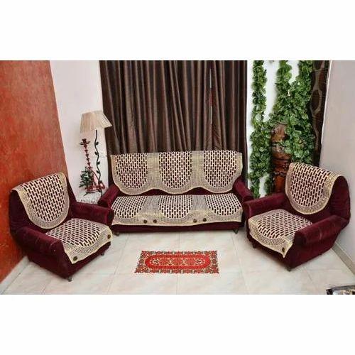 Checkered Sofa Cover