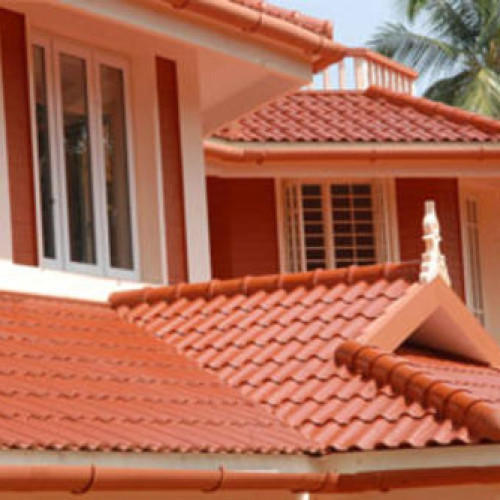asbestos cement ceramic roof tile rs 44 square feet ss