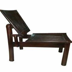 Dark Brown Designer Wooden Chair