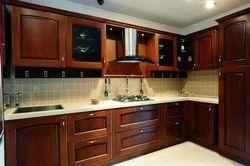 Wooden Modular Kitchen
