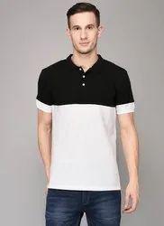 Branded Printed Mens Polo T Shirt