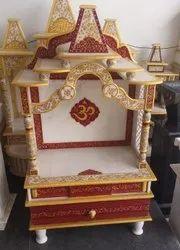 Red Marble Mandir Temple