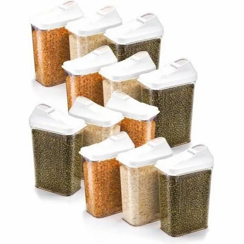 Firefork 750ML Transparent Airtight Plastic Containers