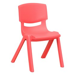 Red Kids School Chair