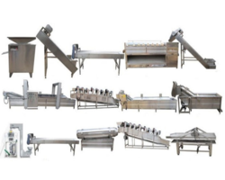 Fully Automatic Potato and Banana Chips Line