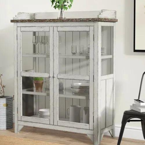 Console Curio Cabinet W47 X D18 H58