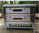 2.4 Kw/hr Stainless Steel Double Deck Bakery Oven