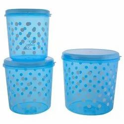 Sea Blue Household Plastic Container, Packaging Type: Box, Capacity: 500 to 1000 g