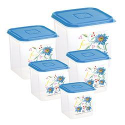 PP Food Grade Container - Croma PP Food Grade Container 3pc 1000
