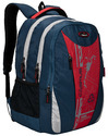 Navy Blue 3 Compartment Large School Bag