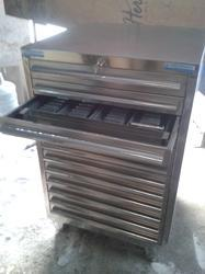 Mirror/Matt TGPE Stainless Steel Horizontal Punch and Die Cabinet