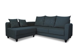 Adorn India Straight Line Modular Sofa(Dark Grey)