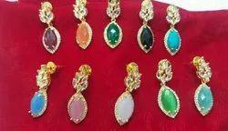 Colour Stone Earrings