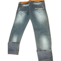 Grey Casual Wear Mens Denim Jeans