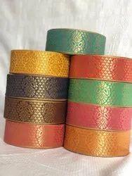 Banarasi Lace Zari Border, Packaging Type: Roll