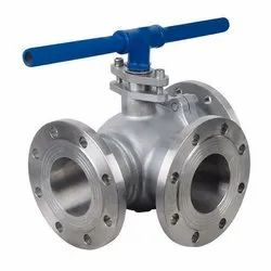 Cast Iron Three Way Ball Valve