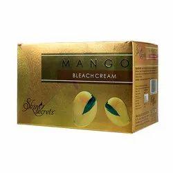 Skin Secrets Mango Bleach Cream, Packaging Type: Box, for Personal,Parlour