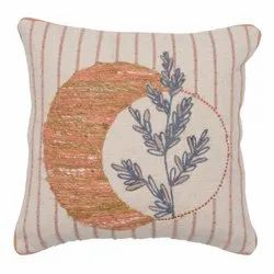 Exclusive Embroidered Cotton Cushion Cover
