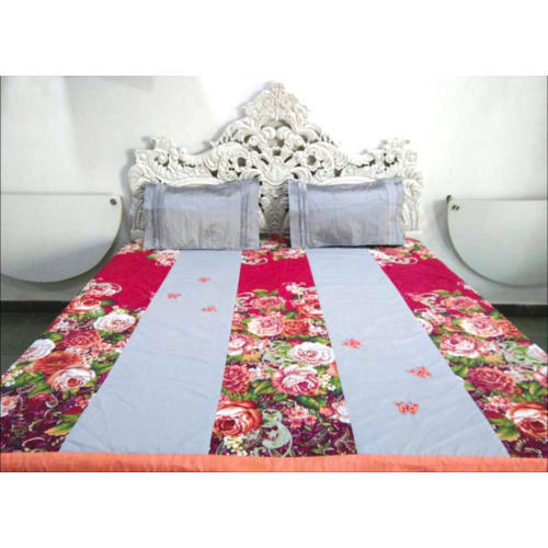 Roses Printed Fitted Bed Sheet At Rs 1450 Piece Fitted Bed Sheet