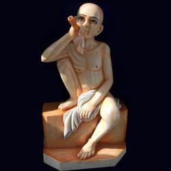 Marble Gajanan Maharaj Statue