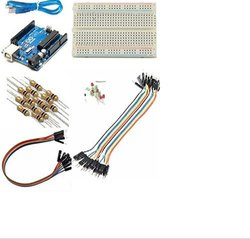 Robocraze Basic Starter Kit with Arduino Uno Breadboard LED Jumper Wire