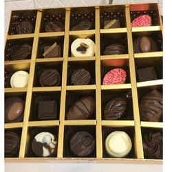 Chocology Rectangular Dry Fruits Chocolate Box, For Gift And Personal Use