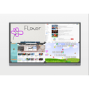 Black 75 Inch Maxhub Interactive Flat Panel, For Education, Power Consumption: 450 W