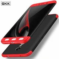 Black & Red Plastic GKK 360 Mobile Back Cover, Packaging Type: Packet