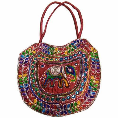 aaeac1c36b7d Ladies Embroidered Handbag